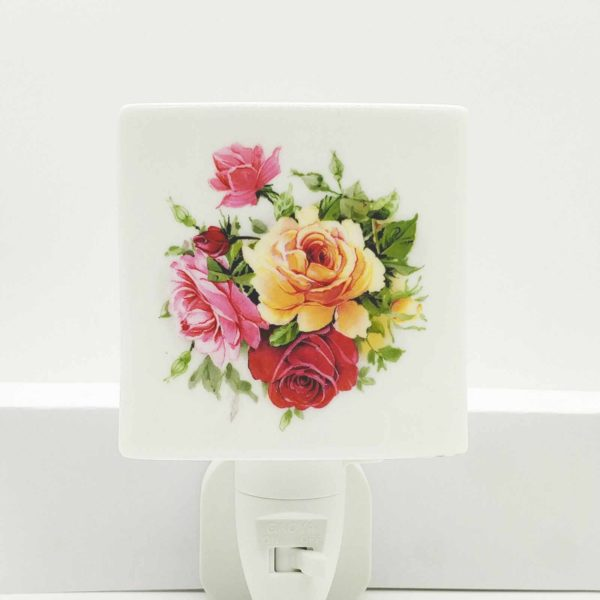 Pink Rose Night Light