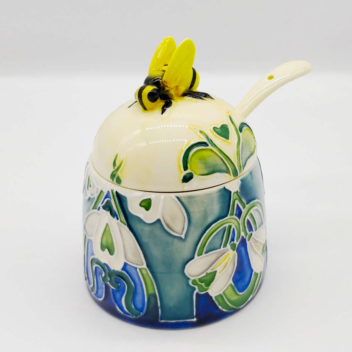 Snowdrop Flower Honey Pot OTW