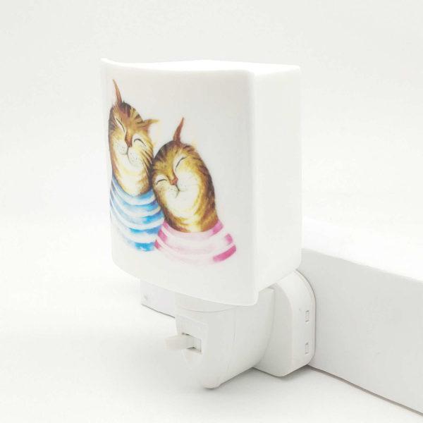 cute cat night lamp