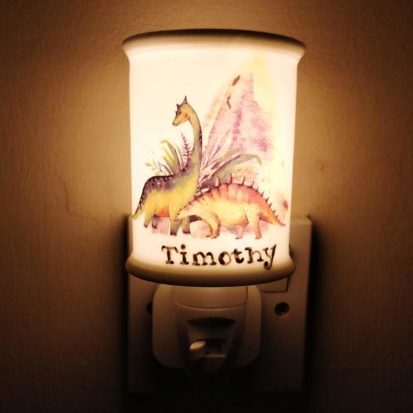 Customised Dinosaur Night Light
