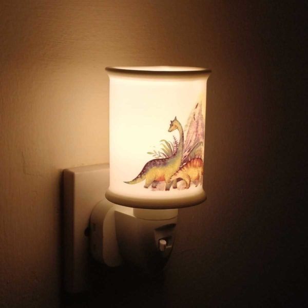 dinosaur plug in lamp