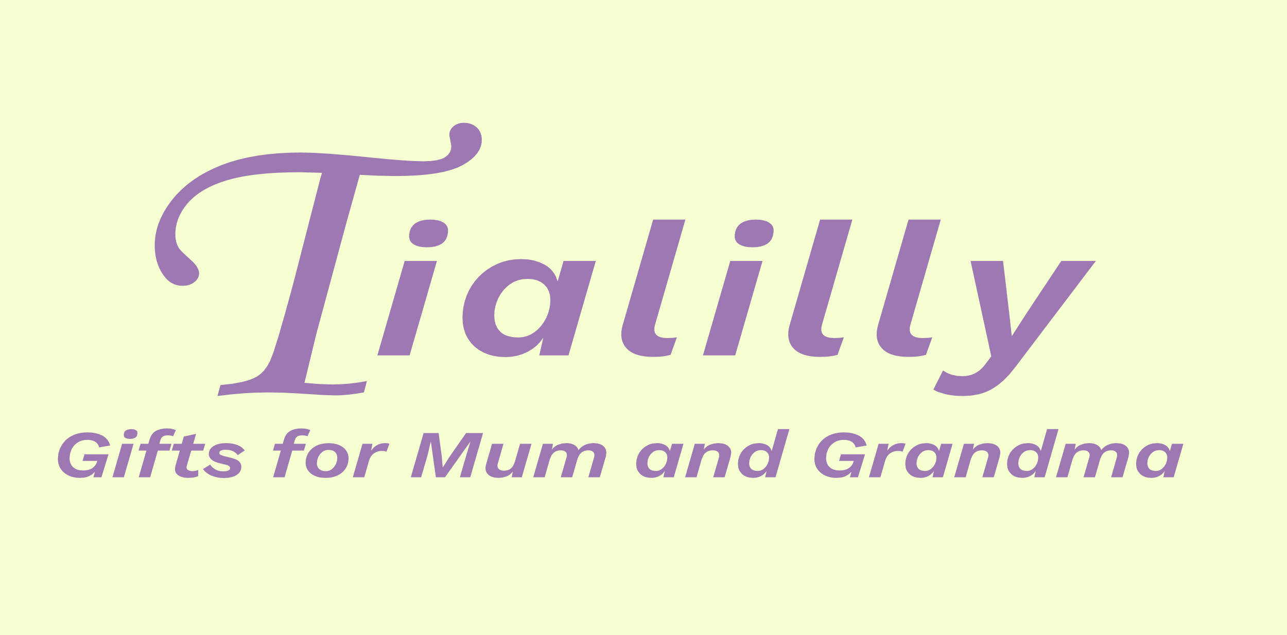 Tialilly Gifts for Mum and Grandma shop logo