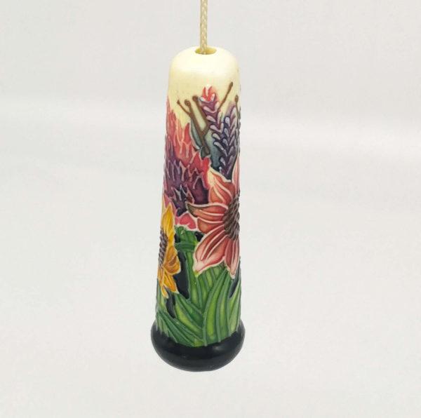 Unique floral light pull