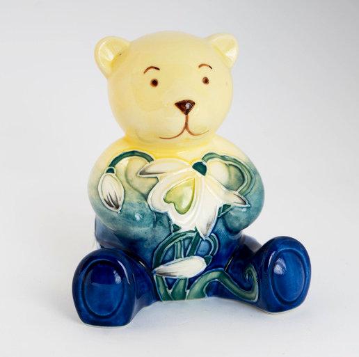 small ceramic bear