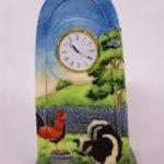 Old Tupton Ware Farmyard clock