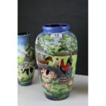 Old Tupton Ware Farmyard vase