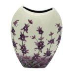 large Old Tupton Ware Lavender pattern vase image