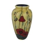 Photo of Old Tupton Ware big Vase with Poppy flowers