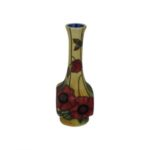 Photo of Old Tupton Ware little Vase with Poppy flowers