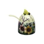 Old tupton ware summer bouquet small honey pot